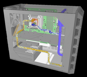 Ansys Discovery Electronic Enclosure